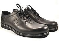 Туфли кожаные большой размер мужские облегченные черные демисезонные Rosso Avangard BS Prince Black Comfort, фото 1