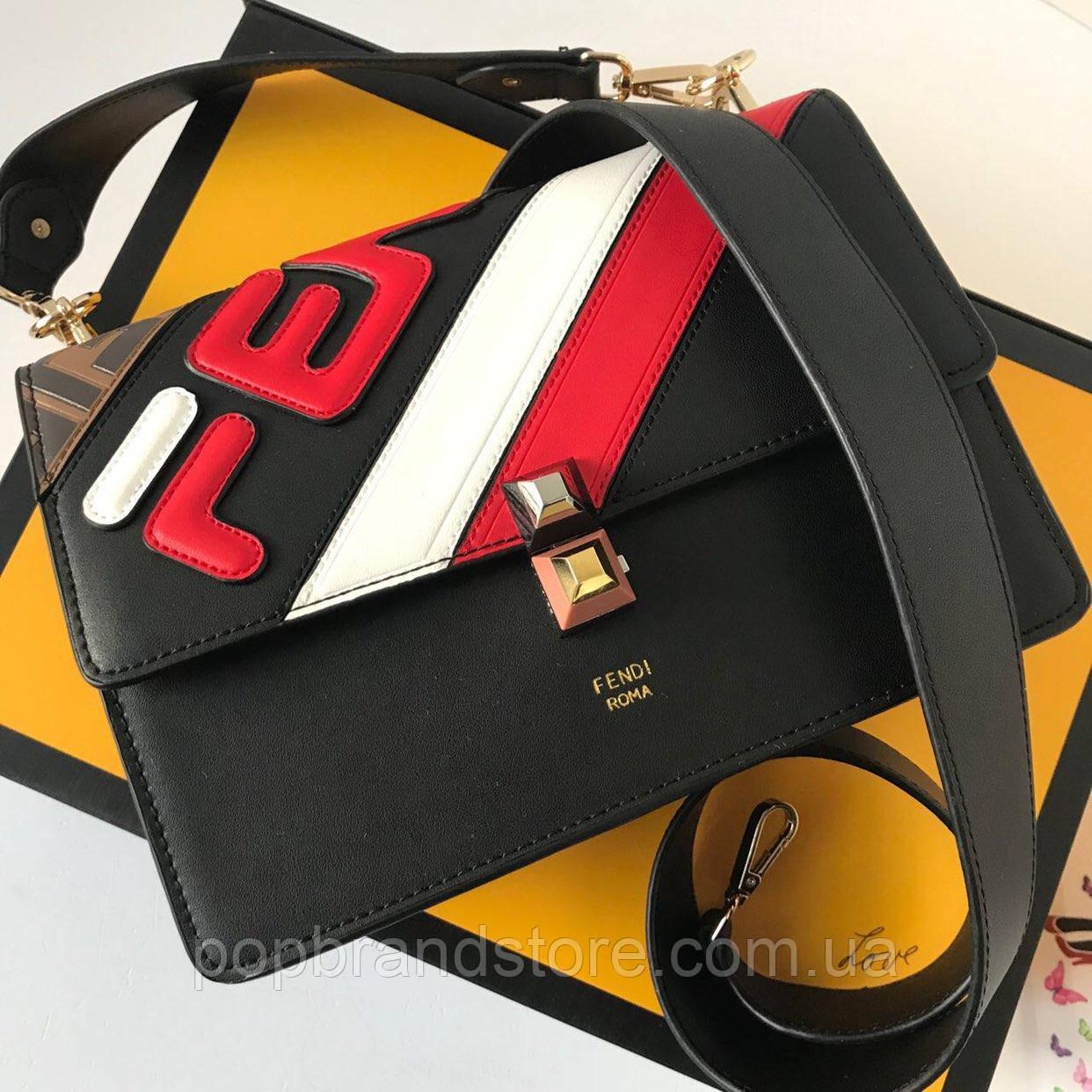 e7505e7be772 Модная сумочка FENDI Kan I (реплика) - Pop Brand Store | брендовые сумки,