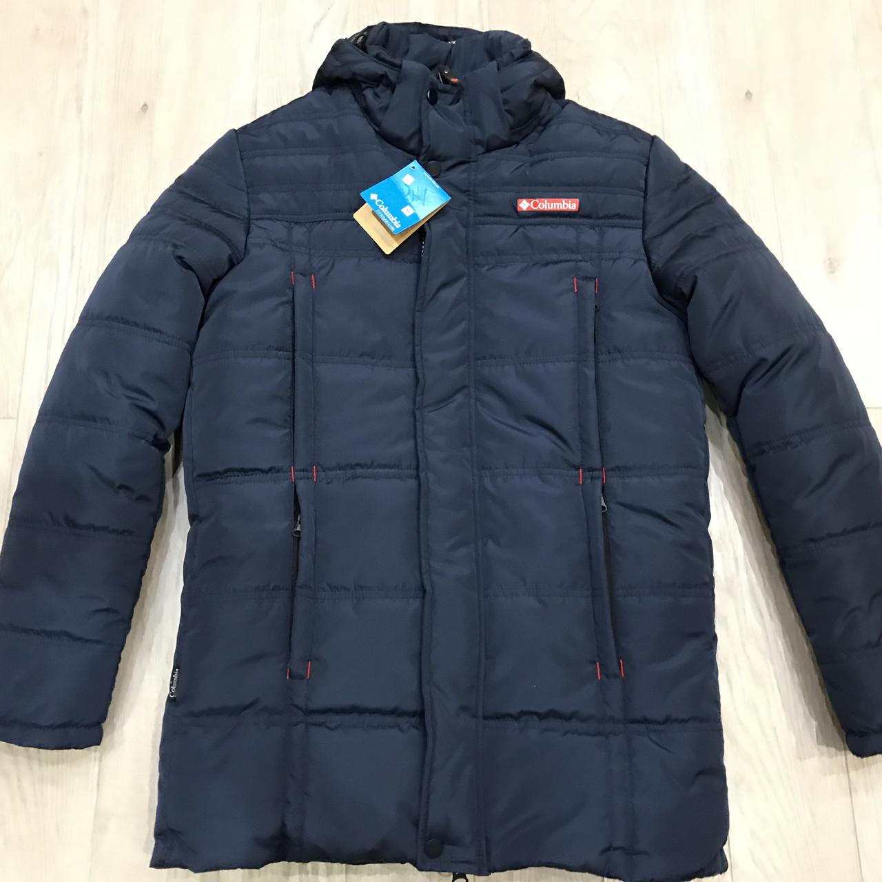 Куртка мужская зимняя в стиле Columbia (большой размер) р. 58 последний размер