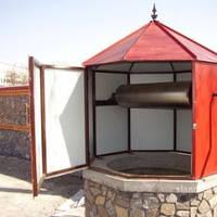 Восьмигранный домик для колодца!