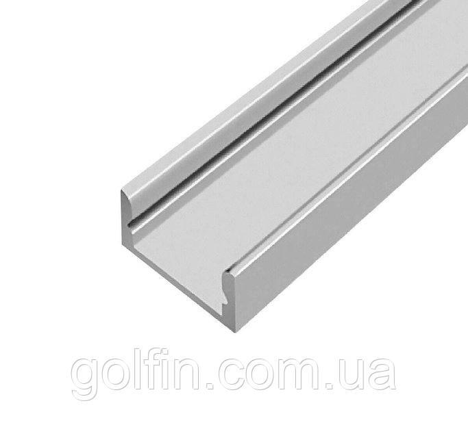 Профиль алюминиевый накладной ЛП-7 (анодированный) 2м