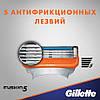 Gillette Fusion 16 шт. + гель для бритья Fusion Proglide gel оригинал Германия, фото 3