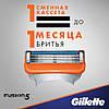 Gillette Fusion 16 шт. + гель для бритья Fusion Proglide gel оригинал Германия, фото 4