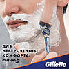 Gillette Fusion 16 шт. + гель для бритья Fusion Proglide gel оригинал Германия, фото 6