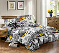 Сатин-люкс.Евро комплект постельного белья