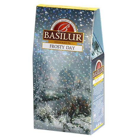 Чай черный Basilur Подарочная коллекция Морозный день картон 100г, фото 2