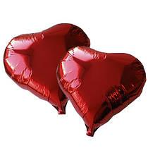 """Фольгированный шар с гелием """"Сердце """", 43х48см."""