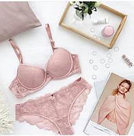 Комплект нижнего белья Balaloum 9370 в нежно-розовом цвете