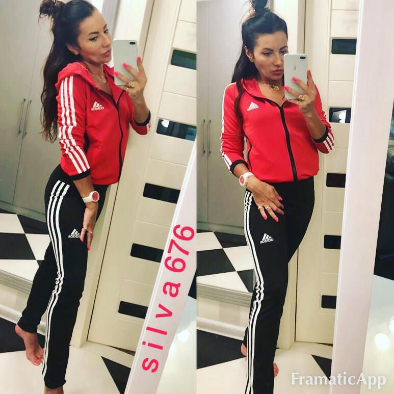 Женский Спортивный Костюм Adidas (реплика) — в Категории