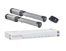 BFT PHOBOS AC A25 kit — автоматика для распашных ворот створка до 2,5м