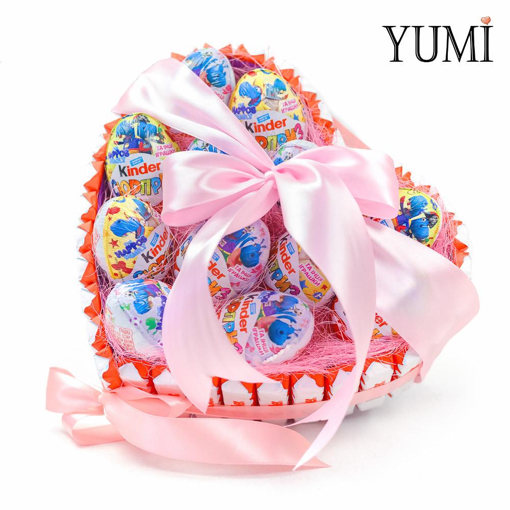 Подарочный набор сладостей для любимого человека