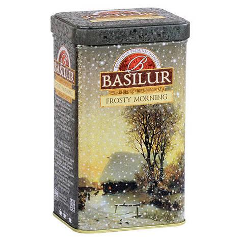 Чай черный Basilur Подарочная коллекция Морозное утро Ж/Б 85г, фото 2
