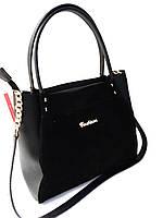 """Женская сумка, качественная """"FASHION"""",  замшевая, 059240, фото 1"""
