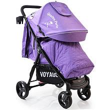 Детская прогулочная коляска книжка  Quattro Porte QP-234 Purple