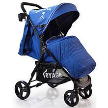 Детская коляска Quattro Porte QP-234 Blue