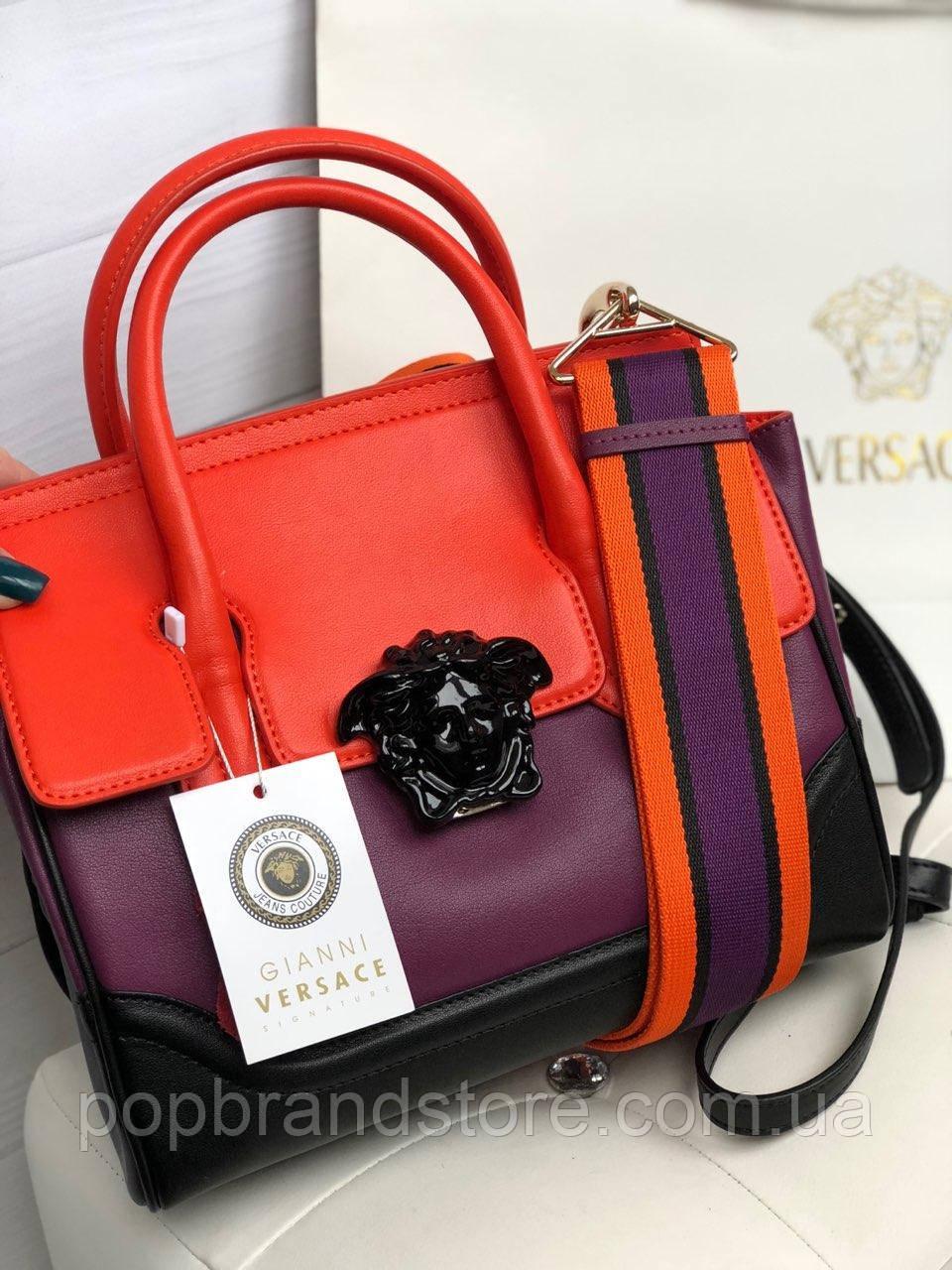 933e0aafcc89 Стильная женская сумка VERSACE Palazzo Empire (реплика) - Pop Brand Store |  брендовые сумки