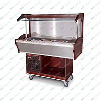 Салат-бар для горячих блюд GGM Gastro SBI159H-W