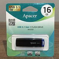 Флешка Apacer 16GB Flash Grive AH359 USB 3.1 (AP16GAH359U-10)