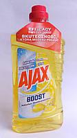 Ajax средство для мытья полов из запахом лимона 1 литр
