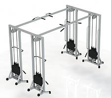 Тренажер для кінезітерапії (МТБ-4) стек 100 кг, рама 60х60 мм