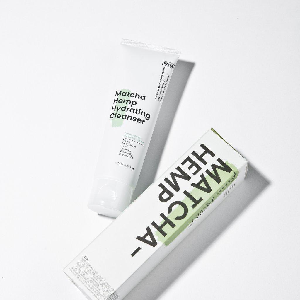 Krave Beauty Matcha Hemp Hydrating Cleanser Гель для очищения лица