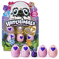 Hatchimals CollEGGtibles Набор Яйца Хатчималс 4 шт + бонусная фигурка, сезон 2, Spin Master из США, фото 1
