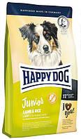 HAPPY DOG  Junior Lamb & Rice корм для щенков с ягненком, 4 кг