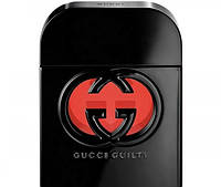 Тестер Gucci Guilty Black 75 ml Лицензия Голландия 100% копия Оригинала