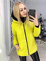 Куртка женская зимняя с капюшоном , фото 1