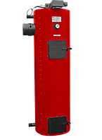 Котел вертикальный длительного горения SWaG (Сваг) 30 кВт. Котел сверхдлительного горения.