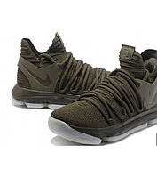 6a63c661f7f3 Мужские баскетбольные кроссовки Nike Zoom KD 10 Green Orange, цена 1 ...