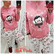 Милый и уютный домашний костюм, пижама, Турция, размеры от 42 до 50, фото 3