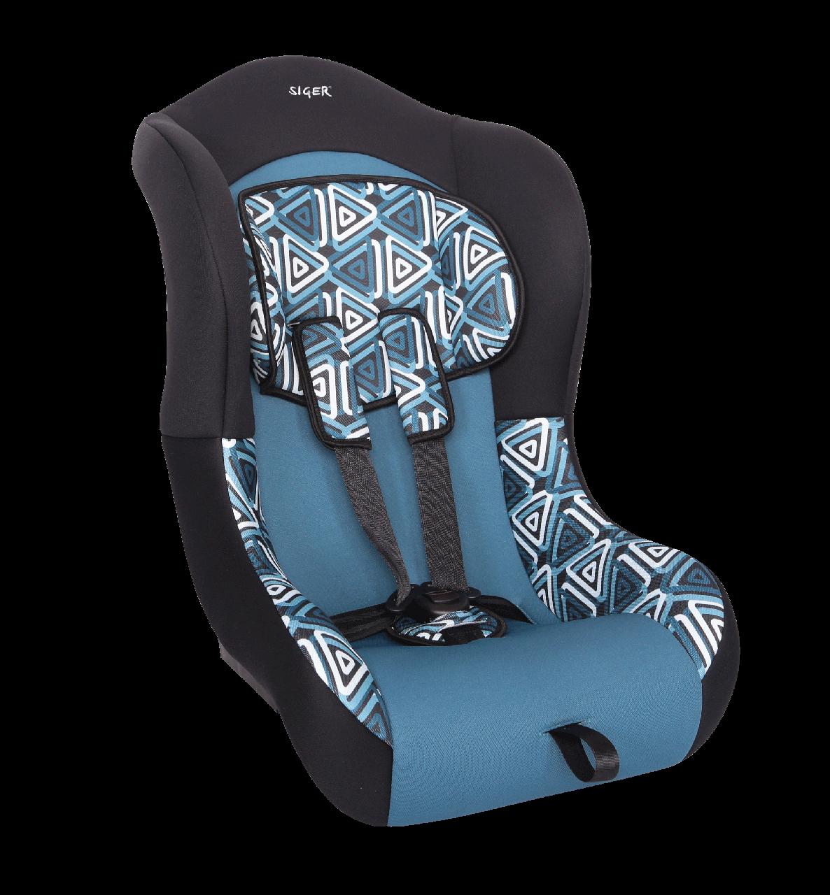 """Детское автомобильное кресло  SIGER """"TOTEM"""" геометрия, 0-4 ЛЕТ, до 18 КГ, группа 0+/1"""