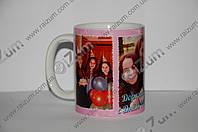 Чашка с фото и текстом