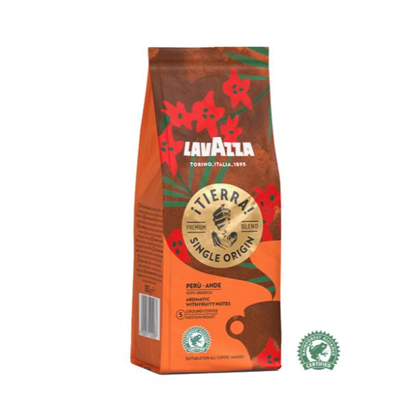 Італійська кава мелена Lavazza Tierra Peru Ande, 180 р.
