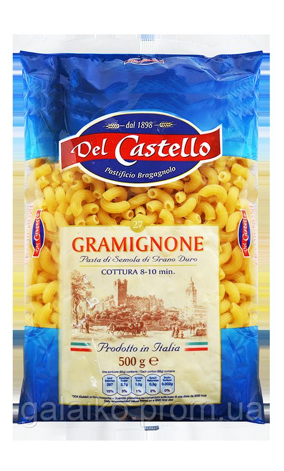 """№ 27 Рожки """"Del Castello"""" 500г"""