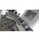 Ковер SKETCH 160x220 см - F343 серый белый Марокканский узор, фото 2
