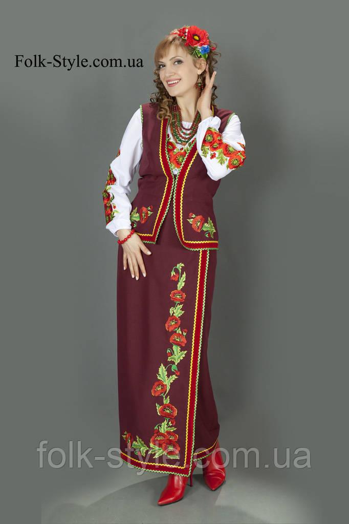Український національний костюм №86(44-56р.)  продажа 74d0af49d73d3