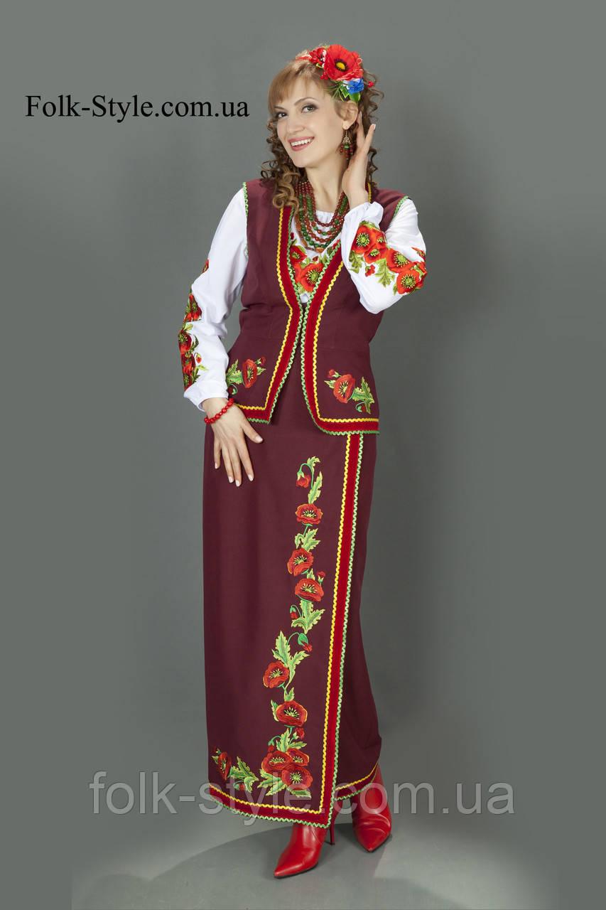 Український національний костюм №86(44-56р.)  продажа 978cbca909000
