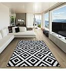 Ковер SKETCH 160x220 см - F998 белый черный -, фото 2