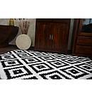 Ковер SKETCH 160x220 см - F998 белый черный -, фото 5
