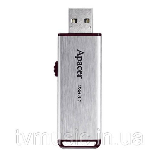 USB флешка Apacer AH35A 16GB Metal Silver (AP16GAH35AS-1)