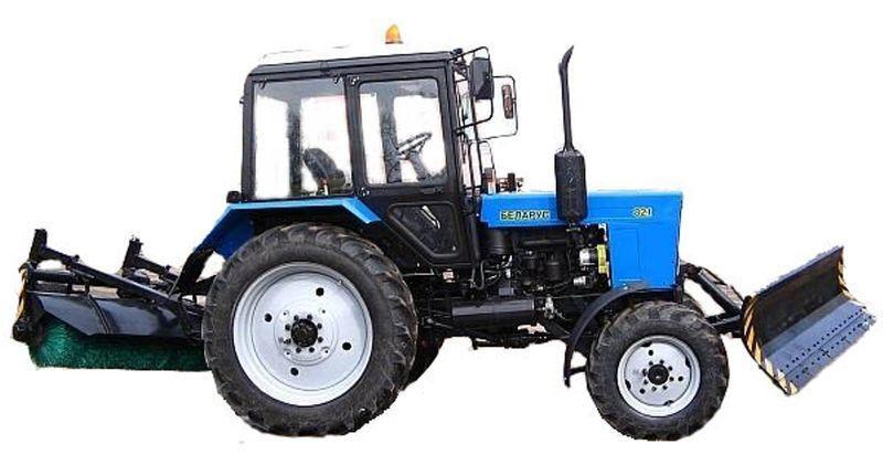 коммунальная техника МТЗ БАМ-2 (отвал+щетка)на тракторах МТЗ