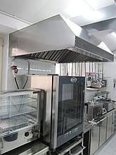 Зонт кухонний з нержавіючої сталі