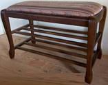 """Банкетка для обуви """"Гармония 70"""" с двумя полками Fusion Furniture, фото 2"""