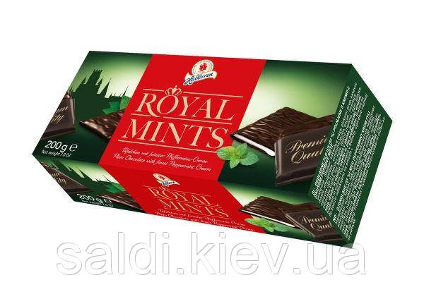 "Шоколад ""ROYAL MINTS"" с мятной начинкой 200g"