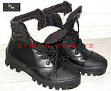 """Зимние тактические ботинки """"M-16"""". Кожа+кордура. Размеры: 40,41, 42, 43, 44, 45, фото 4"""