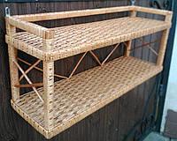 Полка настенная плетеная, фото 1