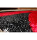 Ковер SHAGGY VERONA 133x190 см B058 черный/красный, фото 3