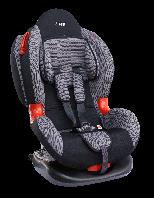 """Детское автомобильное кресло SIGER """"КОКОН"""" серый,  1-7 ЛЕТ, 9-25 КГ, группа 1/2"""